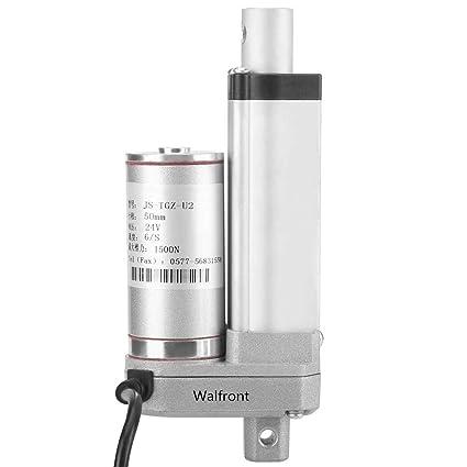 Actuador Lineal de 12v DC Actuador Motor Eléctrico Linear de Movimoiento de Elevador 50/100