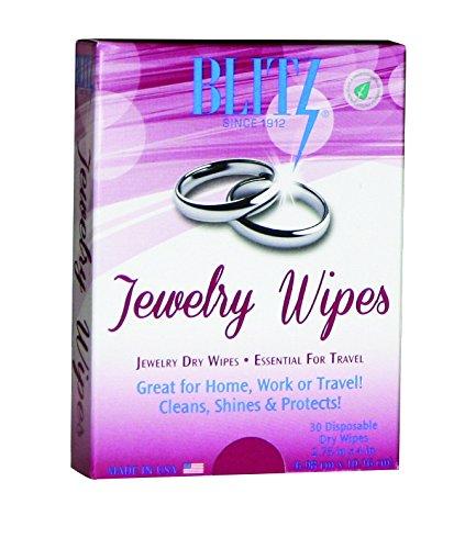 Blitz 2017 2-Pack Dry Wipes Disposable Polishing Cloths Blitz (Home)