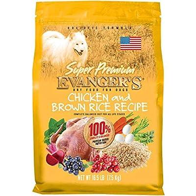 Evanger's Super Premium Chicken with Brown Rice Dry Dog Food