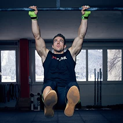 Chin Ups Protect Your Palms Weight Lifting Pullups Calleras para Crossfit Grips Gymnastics PICSIL AZOR Grips 3H