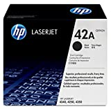 HP 42A (Q5942A) Black Original Toner Cartridge