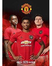 Manchester United FC 2020 Calendar - Official A3 Wall Format Calendar