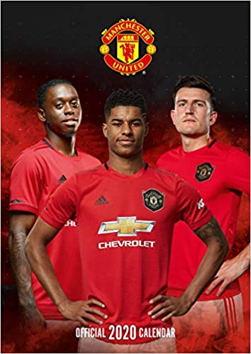 the official manchester united calendar 2020 united manchester 9781838541705 amazon com books manchester united fc