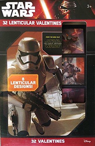 (Star Wars Lenticular Valentines ~ 32 count ~ 1)