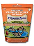 CRUNCHY PUFFS Wild Alaskan Salmon with Sweet Potatoes Dog Treats – 24oz Bag, My Pet Supplies