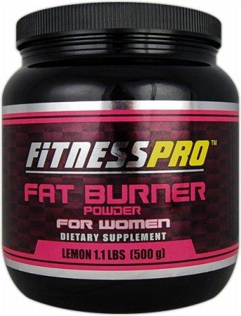 Fitness Pro Lab poudre Fat Burner pour femmes, citron, 500-Grammes
