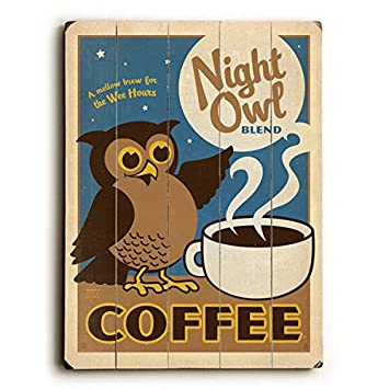 8713a564bce53 Amazon.com: Night Owl Coffee by Anderson Design Group 18