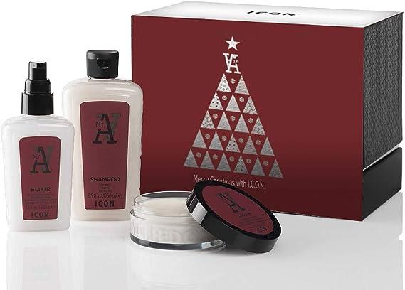 ICON PACK TRIO MR.A ANTICAIDA DE ICON (Champu 250ml +Elixir 150ml +Cream 90gr): Amazon.es: Salud y cuidado personal