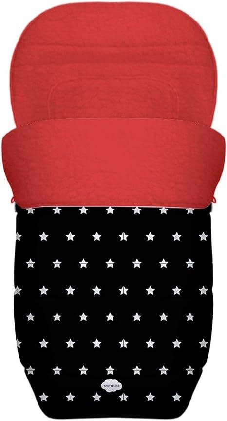 BABY STAR Saco Silla Paseo Universal Reversible (Estrellas ...