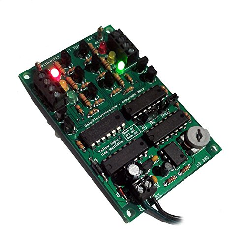 Dual Traffic Light Controller - LED Sequencer / Model Railroad Compatible HO,N,Z