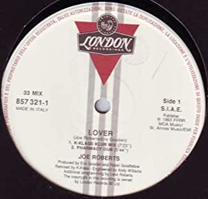 Lover to lover (1983) / Vinyl single [Vinyl-Single 7'']