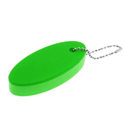 NON Sharplace 1 Pieza de Llavero Ovalado Flotante de Agua Flotación Boya para Deportes Acuáticos Material