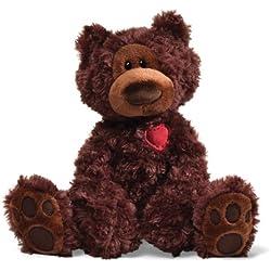 """Gund Valentine's Philbin Teddy Bear 12"""" Plush"""