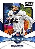 #3: 2018 Score NFL Draft #23 Dallas Goedert South Dakota State Jackrabbits Rookie RC Football Card