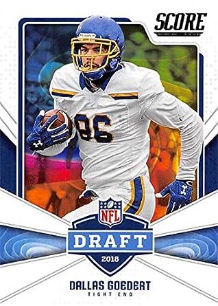premium selection 0b35b c0671 Amazon.com: 2018 Score NFL Draft #23 Dallas Goedert South ...