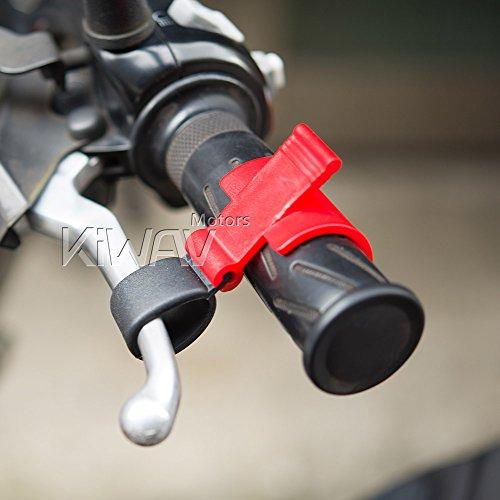 KiWAV Magazi motorcycle brake lever lock for loading jacking up bike (Lock Up Rear Brakes)