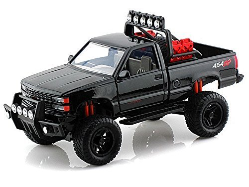 - 1992 Chevy 454 SS Pickup Off Road 1/24 Black