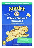 Annie's - Bunnies All-Natural Baked Snack Crackers Whole Wheat - 7.5 oz.pack of 2