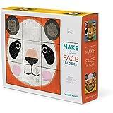 "Crocodile Creek Make-A-Face Blocks Animal Mix & Match Block Stacking Set, 2.5"""