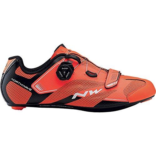 延ばす大きさ説教Northwave Sonic 2 Plus Cycling Shoe – Men 's Lobsterオレンジ/ブラック、44.0