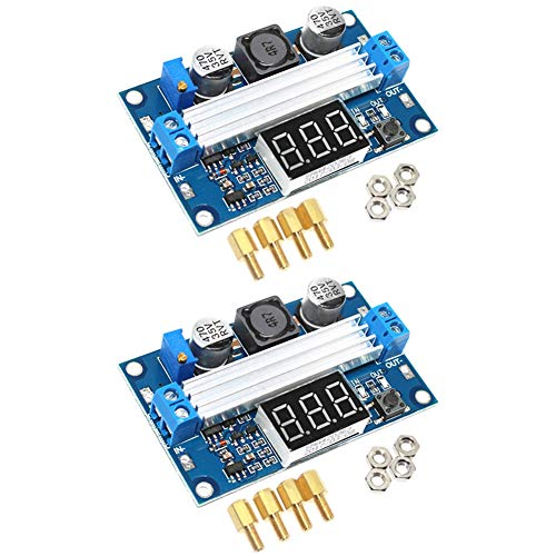 2PCS of Boost Converter Module XL6009 3-30V to 4-35V DC-DC Output Voltage Adjustable Step up Circuit Board 400KHz Big Current 4A