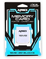 KMD Memory Card, 16MB-White, Wii