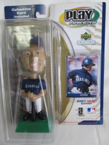 Ichiro Bobble Head (2001 MLB Edition Upper Deck Seattle Mariners ICHIRO Rookie Collectible Bobblehead!!)