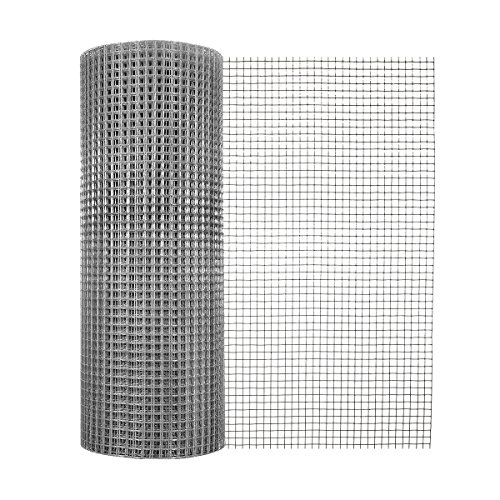 (Garden Zone 24 Inches x 100 Feet 19-Gauge Galvanized Hardware Cloth with 1/2-Inch Openings)