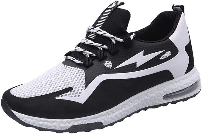 Zapatillas de deporte juveniles para hombres y mujeres, antideslizantes y transpirables, para correr por la calle, zapatillas de baloncesto, zapatillas de baloncesto, zapatillas para correr, zapatillas para correr, Mujer, Blanco, 40: Amazon.es: