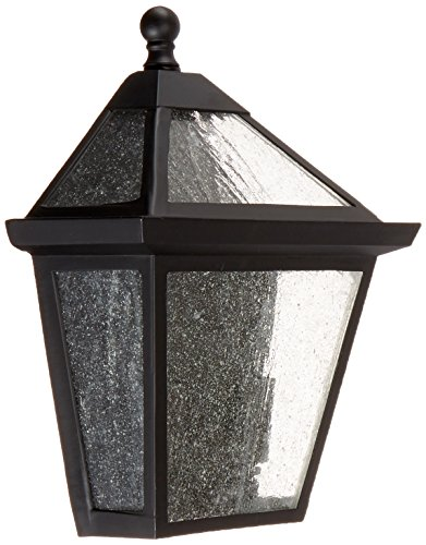 Acclaim 7604BK Bay Street Collection 2-Light Wall Mount Outdoor Light Fixture, Matte Black Black Charleston Collection