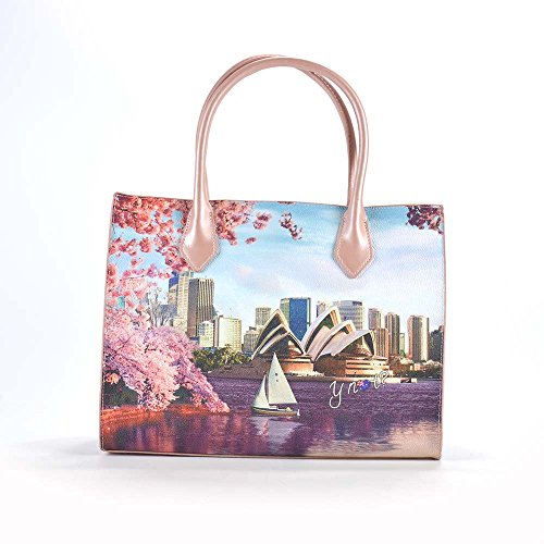 YNOT? J-376 Shopping Bag Donna Multicolor