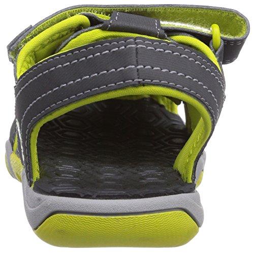 Timberland Active Casual Sandal, Sandalias Abiertas, infantil Gris  (Dark Grey/Green)