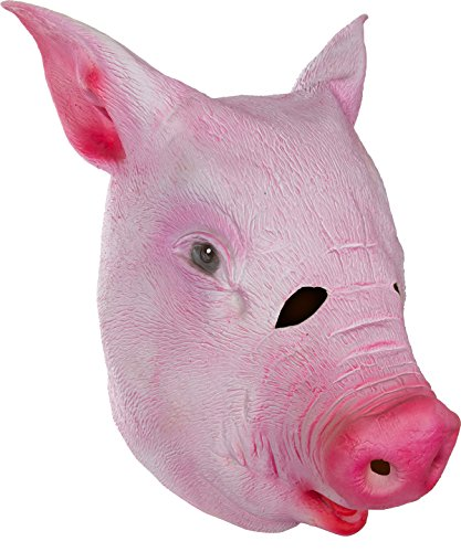 Capital Costume Giant Animal Masks Pig Head Costume (Pig Mask Costumes)