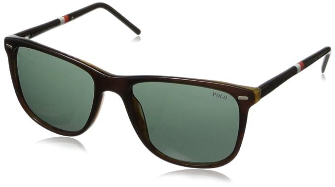 Polo Ralph Lauren 0PH4064 Gafas de sol, Top Brown/Havana, 54 ...