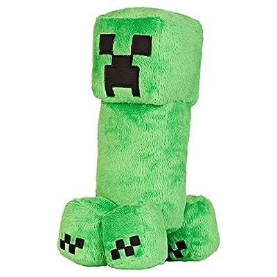 JINX Minecraft Creeper Plush Stuffed Toy, Green, 10.5