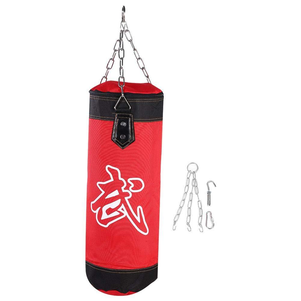 人気が高い Vbestlife 空のボクシングバッグ ボクシングハンギング パンチングバッグ MMA ファイト Vbestlife 空手 MMA フィットネス Red ワークアウト パンチ サンドバッグ キックバッグ トレーニング キックサンドバッグキット チェーンフックカラビナ付き 0.6m/0.8m/1m/1.2m Red 0.6m B07H2F2JW5, スタイルオン:d1cdc949 --- a0267596.xsph.ru