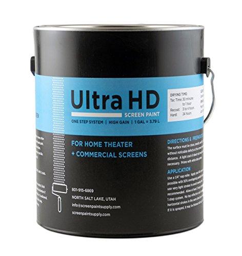 Ultra HD Premium Screen Paint (Gallon) (Proyectores De Video Hd)