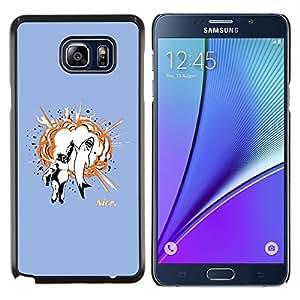 TECHCASE---Cubierta de la caja de protección para la piel dura ** Samsung Galaxy Note 5 ** --Gorila & Shark Explosión