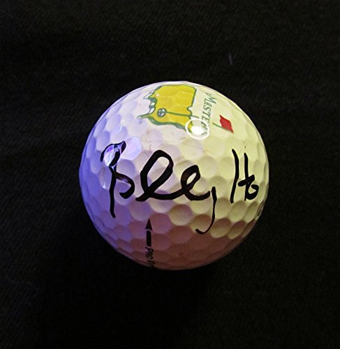 BILLY HORSCHEL Autographed Hand SIGNED MASTERS GOLF BALL w/COA & NEW BALL CUBE - Hand Signed Golf Ball