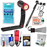 SeaLife SL671 Sea Dragon 2500 UW Photo/Video Dive Light Kit with Aquapod + Silica Gel + Floating Strap + Accessory Kit