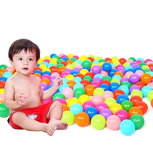 "Chunlin 100PCS 7CM 2.76"" Baby Kid Child Swim Pit Toy Round"