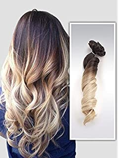 One piece clip in hair extensions amazon beauty 22 full head clip in hair extensions ombre wavy curly dip dye 6 pcs dark pmusecretfo Images