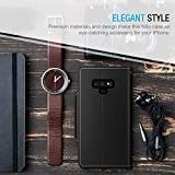 Maxboost Galaxy Note 9 Case, [Folio Style] Wallet