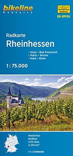 Bikeline Radkarte Rheinhessen. Mainz - Worms - Bad Kreuznach - Alzey - Rhein - Nahe, 1 : 75 000, wasserfest und reißfest, GPS-tauglich mit UTM-Netz: RK-RPF06