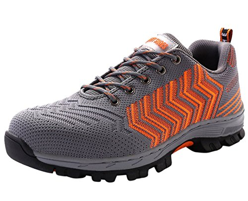 Lavoro ru Acciaio Outdoor Sneaker Scarpa Ginnastica Uomo Scarpe Running Sportive Da Antinfortunistica Orange01 7AtHxqX