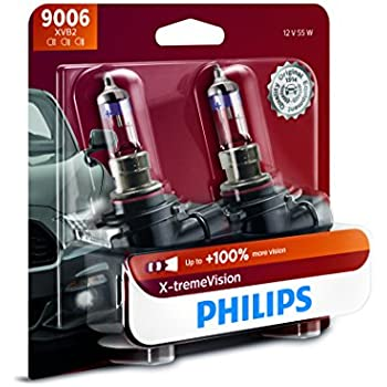 Philips 9006XVB2  X-tremeVision Upgrade Headlight Bulb, 2 Pack