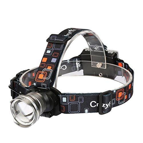 Waterproof 1600 Lumens CREE XM-L T6 3 Modes Adjustable Headlamp - 1
