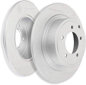 Front Rotors /& Ceramic Pads For 2008 2009-2011 Dodge Caliber Mitsubishi Lancer