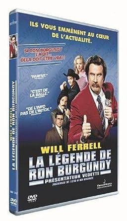 La Légende de Ron Burgundy, présentateur vedette Francia DVD ...