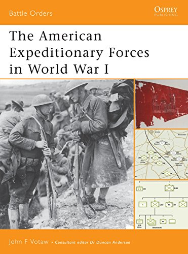 The American Expeditionary Forces in World War I (Battle Orders)